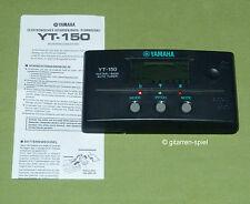 YAMAHA YT-150 Guitar / Bass Auto Tuner Stimmgerät mit Batterie 1A TOP!