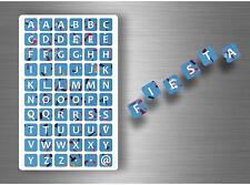 Lot Of 60 Stickers Scrapbook Scrapbooking Alphabet a-Z DIY F