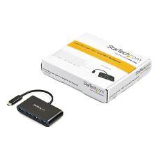 StarTech.com 4-Port USB 3.0 Hub - USB-C to 4x USB-A - Bus Powered