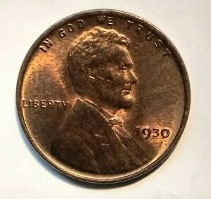 1930 P  WHEAT SMALL CENTS