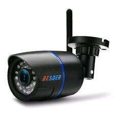 BESDER Yoosee IP Camera Wifi 1080P ONVIF Wireless Wired P2P mini in UK black