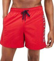Tommy Hilfiger Mens Designer Board Shorts Swim Trunks Red Size M L XL RRP $109