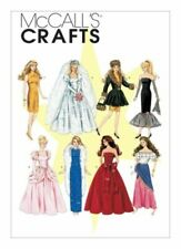 """McCall's SEWING PATTERN Doll 11.5"""" Dresses - M6232-OSZ"""