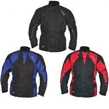 Akito Python Motorcycle jacket Blue 3XL