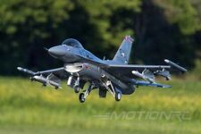 FreeWing F16 90mm edf jet with afterburner, scale retracts, missiles PNP