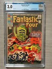Fantastic Four 49 CGC 3.0 First Galactus 2nd Silver Surfer