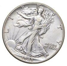 AU/Unc - 1943 Walking Liberty Silver Half Dollar - Better *889