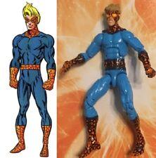 Marvel Legends Custom SPEED BALL - Quicksilver Spider man demon vulture captain