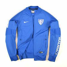 Nike Herren Sweater Sweat Tracktop Gr.S Malaga CF Dri-Fit Jacke Blau 87063