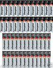 48 Energizer Max Alkaline Batteries 24 AA & 24 AAA Batteries EXP 2026