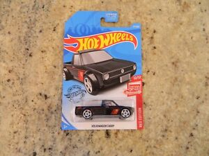 New Hot Wheels Target Exclusive Red Edition - Volkswagen Caddy Pickup Truck