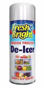 Quick Fridge Freezer De Icer Spray Defroster Quickly Anti Bacterial Deicer 200ml