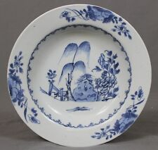 Nanking Chinese Shipwreck Porcelain Cargo Willow Terrace Soup Plate c1750