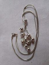 Sterling silver Designer LINKS London necklace