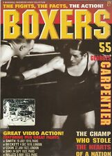 "BOXERS MAGAZINE GEORGES CARPENTIER ""FIGHTS,FACTS,ACTION""  VOLUME  #55  1996"