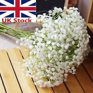 2050x Artifical Gypsophila Silk Flower Pot Wedding Vase Bouquet Decor Pretty