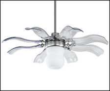 Vento Fiore 42 in. Brushed Nickel Retractable Ceiling Fan K-00029