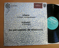 Ohama Etudes Kabelac 8 Inventions Percussions de Strasbourg Philips 836.990 DY