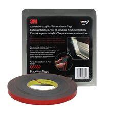 3M Automotive Acrylic Plus Attachment Tape, Black, 1/2