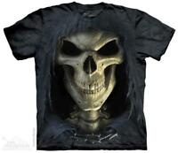 Big Face Death Reaper Hood Skull The Mountain T-Shirt (3652) All Sizes