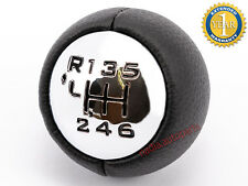 CITROEN C3 C4 COUPE C5 PICASSO I II GEAR SHIFT STICK KNOB CHROME 6 SPEEDS MANUAL