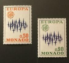 Communications Europa mnh set 2 stamps 1972 Monaco #831-2