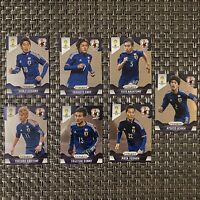 Japan Complete World Cup Prizm Team Set 2014 Panini Lot Of 7 Soccer Cards