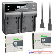 Kastar Battery AC Rapid Charger for Sony NP-BK1 BC-CSK Sony Cyber-shot DSC-W370