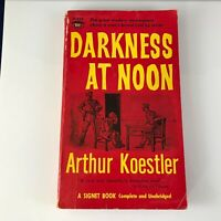 Darkness At Noon Arthur Koestler A Rare and Beautiful Executed Novel Signet 1638