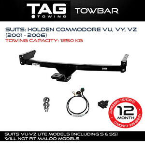 TAG Towbar Fits Holden Commodore 2001 - 2006 Towing Capacity 1250Kg 4x4 Exterior