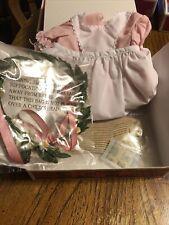 American Girl Kirsten Birthday Outfit Dress Apron Socks Wreath NIB NRFB RETIRED