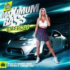 MINISTRY OF SOUND Maximum Bass Unleashed  3CD NEW SEALED RELEASE 23/10/2015