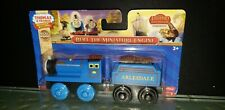 THOMAS & FRIENDS WOODEN RAILWAY BLUE BERT THE MINIATURE ENGINE RARE NIB NEW