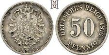 HMM - Deutsches Kaiserreich 50 Pfennig 1876 C J. 7 - 151213037