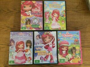 Strawberry Shortcake DVD's x5 (R4)