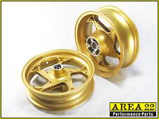 Area 22 2014 2015 Honda MSX125 Grom Type 1 Custom Wide Mag Wheels Rims Gold