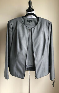 Gray Women's Emily Two Piece Skirt Suit  Size 12