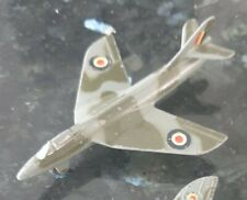 Vintage DINKY Toys HAWKER HUNTER Airplane no.736 collectable