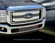 Fits 2011-2016 Ford F250/F350/F450/F550 Billet Grille Front Bumper Grill