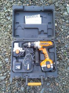 WORX 18V CORDLESS DRILL WX369.3
