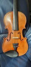 Alte Meister Geige Mit Brandstempel Und Zettel