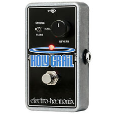 Electro-Harmonix Holy Grail Nano Reverb Guitar Effect Pedal +Picks