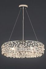 NEXT Ritz 4 Light Beaded Pendant Ceiling Lighting & Chandelier NEW