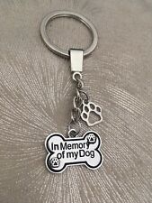 Pet Memorial Dog Key Ring - Pet Loss Sympathy Bereavement Gift