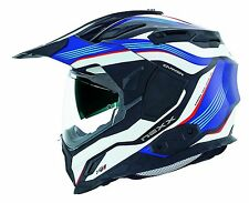 Nexx XD1 Canyon Adventure Full Face Motorcycle Helmet Blue Large