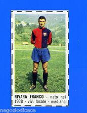 CORRIERE DEI PICCOLI 1966-67 - Figurina-Sticker - RIVARA - GENOA -New