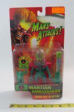 TIM BURTON - MARS ATTACK - 1996 - MARTIAN AMBASSADOR - WITH FIRING CHAOS RAY -