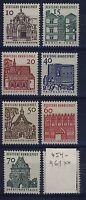 BUND Nr. 454-461** postfrisch Deutsche Bauwerke DS Lorsch Tegel Zwinger 1964