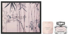 Gucci Bamboo by Gucci for Women 3 Piece Gift Set 2.5 oz Eau de Parfum dented box