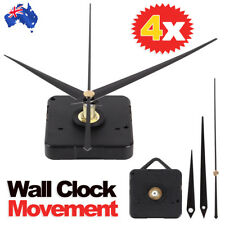 Silient DIY Quartz Movement Wall Clock Motor Mechanism Long Spindle Repair Parts
